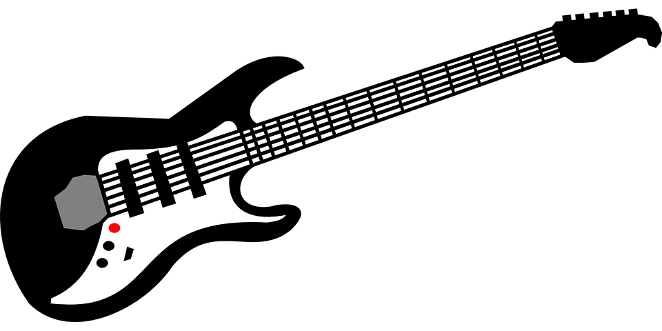 electric guitar music free vector graphic on pixabay rh pixabay com guitar vector png guitar vector file