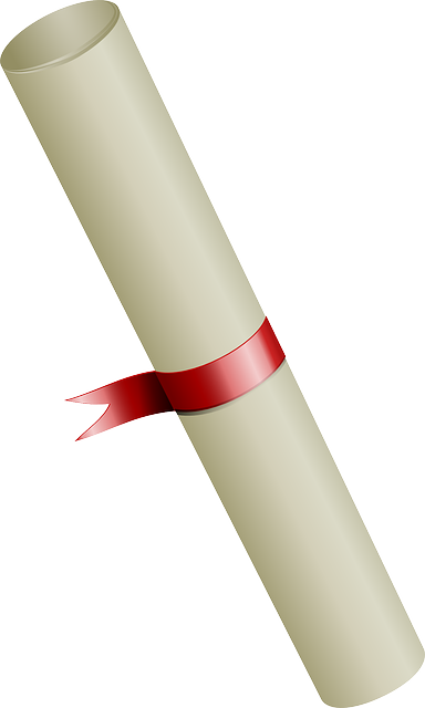 graduation scroll clip art free - photo #49