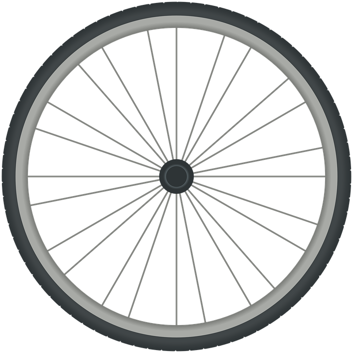 Bicycle wheel bike free vector graphic on pixabay for Bicycle rims