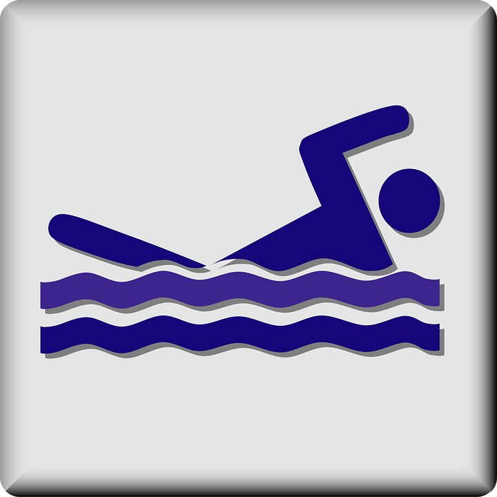 Swimming Pool Swim Facility Sign Symbol Hotel