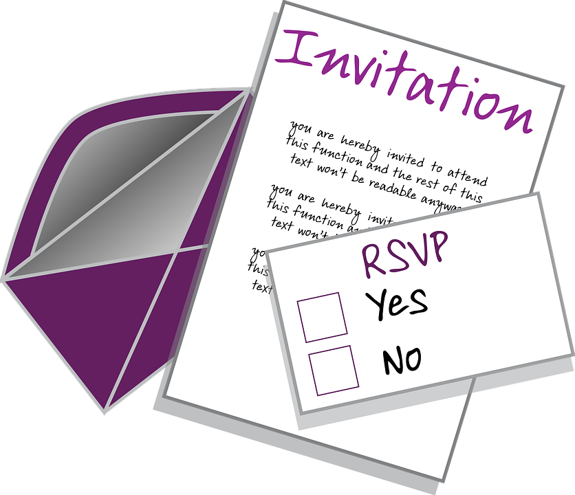 Invitation Party Wedding Free Vector Graphic On Pixabay