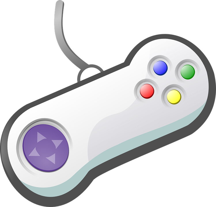 Games controller video free vector graphic on pixabay - Nintendo clipart ...