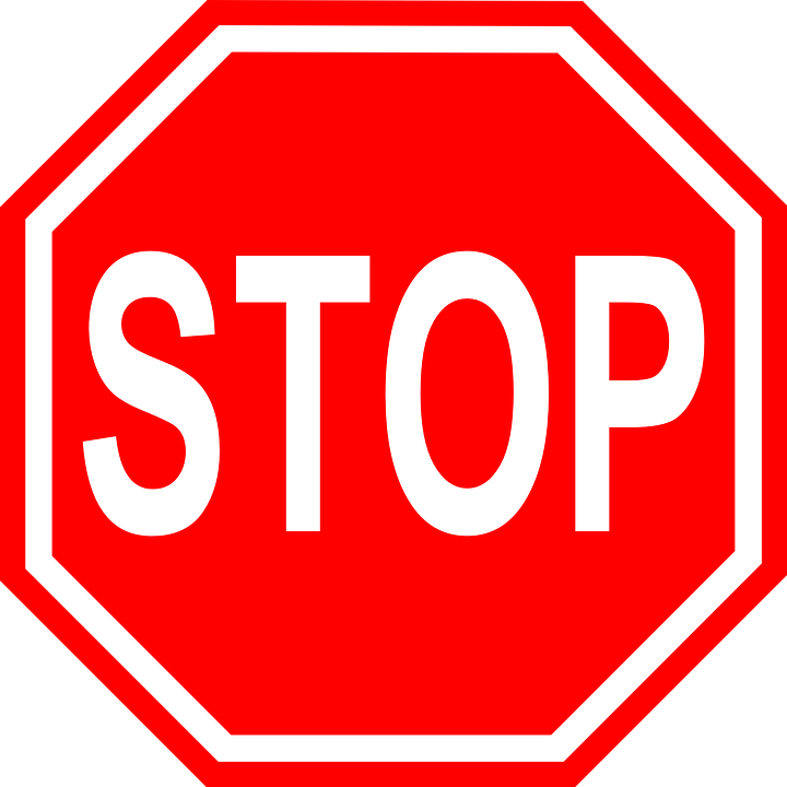 Stop Traffic Road Free Vector Graphic On Pixabay
