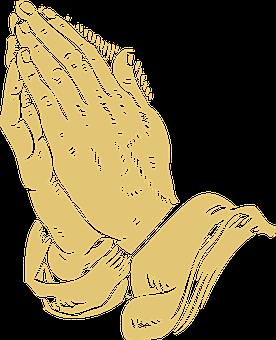 Folded Hands Praying Pray Prayer Pray