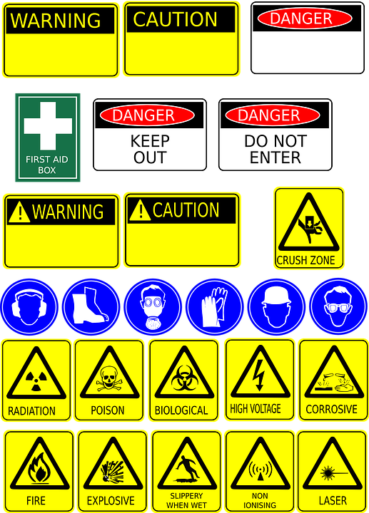 Signage Safety Health Free Vector Graphic On Pixabay