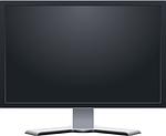 monitor, screen, flat