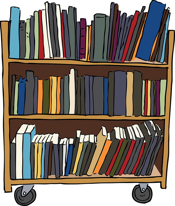 Bookshelf Bookcase Furniture Free Vector Graphic On Pixabay