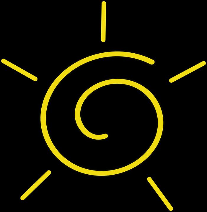sun yellow rays free vector graphic on pixabay rh pixabay com Black Vector Swirls Black Vector Swirls