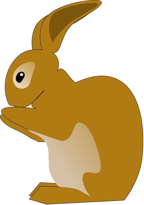 Free vector graphic: Bunny, Rabbit, Animal, Eating - Free ...