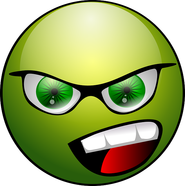 Animated emoticons angry
