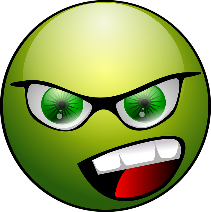 angry face emoticon free vector graphic on pixabay