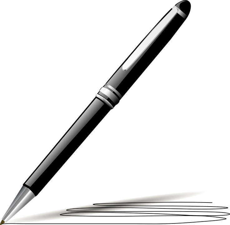 pen black ink free vector graphic on pixabay rh pixabay com vector pens for illustrator vector penny