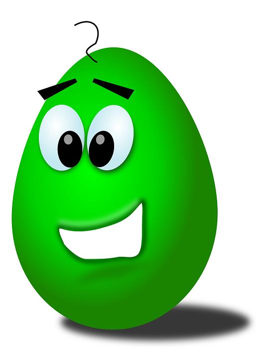 Yumurta Yuz Gulen Pixabay Da Ucretsiz Vektor Grafik
