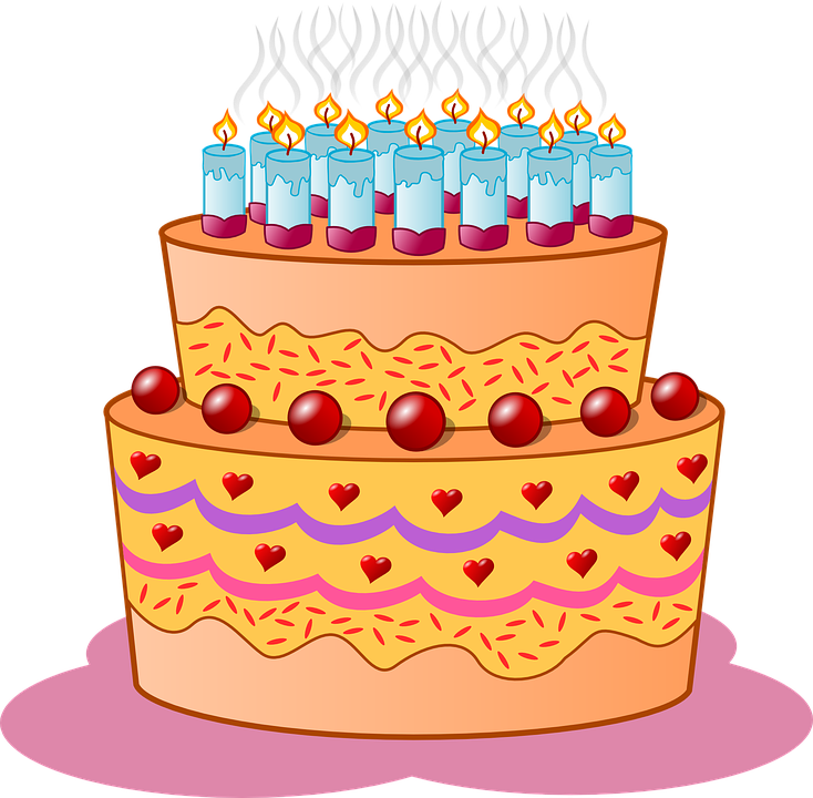 Free Vector Graphic Birthday Cake Candles Icing Free Image - Graphic birthday cake