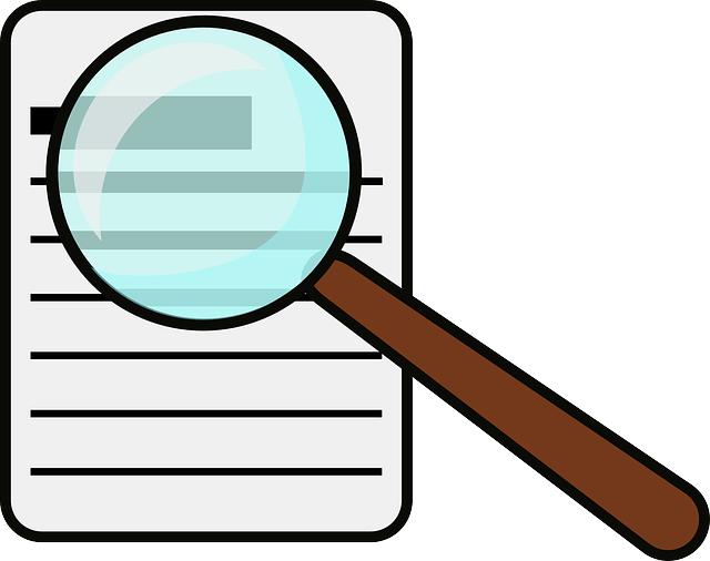 Magnifying Glass Document · Free Vector Graphic On Pixabay
