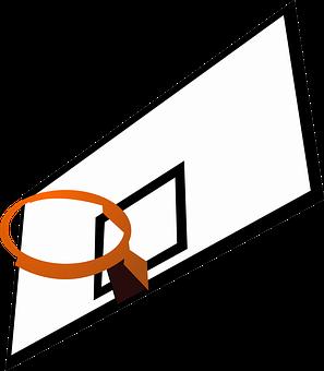Backboard Rim Basketball Sports Recreation