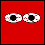 eyes, bloodshot, pupil