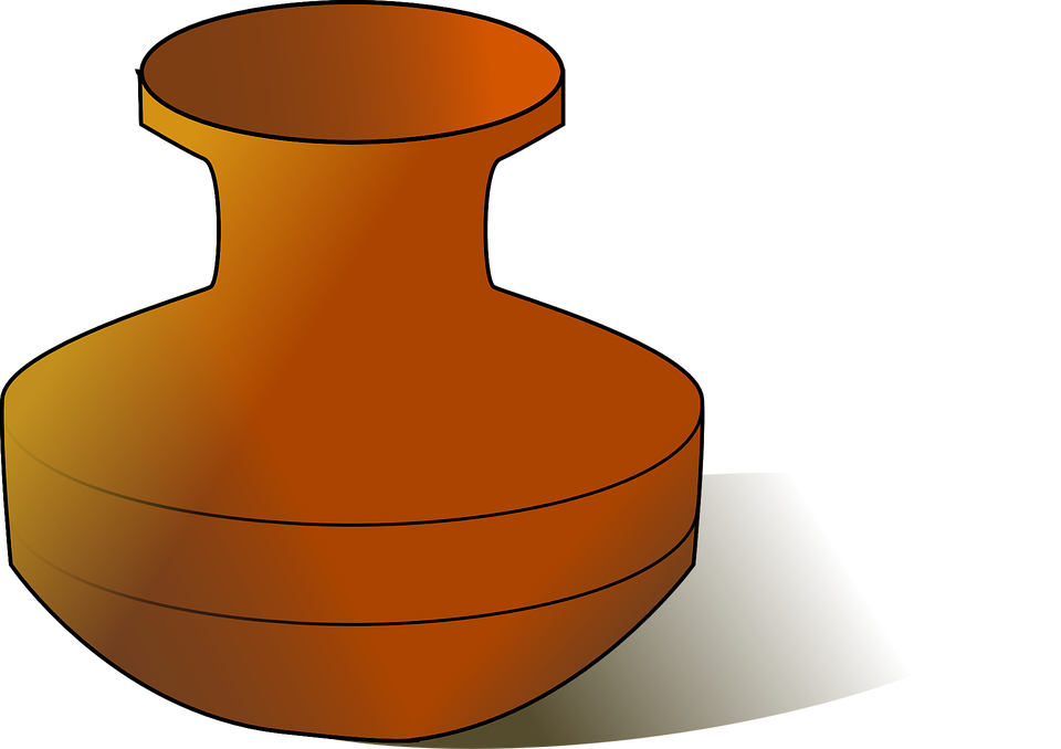 Urn Vase Pot Clay 183 Free Vector Graphic On Pixabay