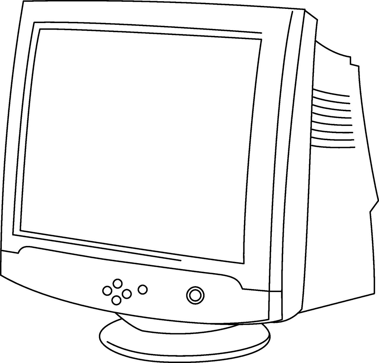 Раскраска экран компьютера