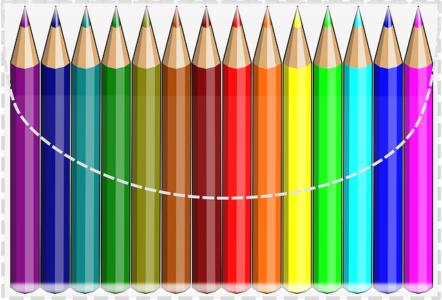 Color Pencils Colourful Crayons 183 Free Vector Graphic On