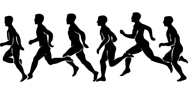 runners silhouette people  u00b7 free vector graphic on pixabay