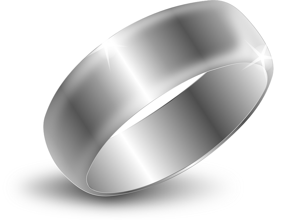 Ring Wedding Silver · Free Vector Graphic On Pixabay