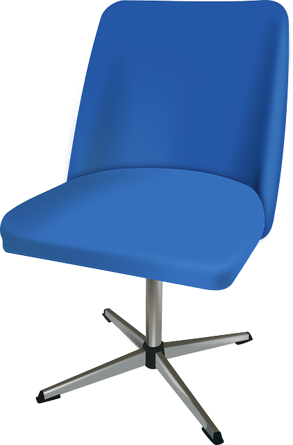 Free Vector Graphic Chair Revolving Office Furniture
