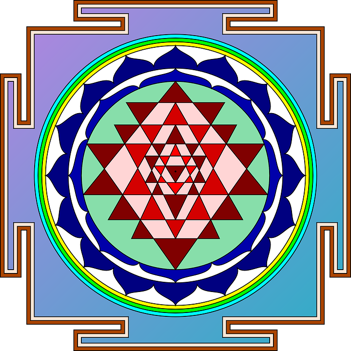 Sri Yantra Object Devotion - Free vector graphic on Pixabay