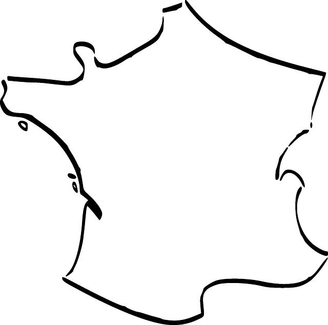 france carte pays images vectorielles gratuites sur pixabay. Black Bedroom Furniture Sets. Home Design Ideas