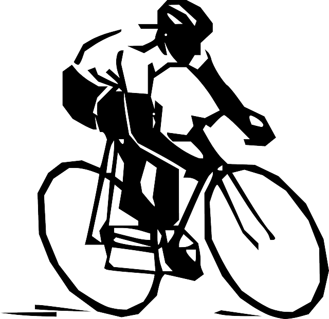 Man Ricing Bicycle Free Vector Graphic On Pixabay