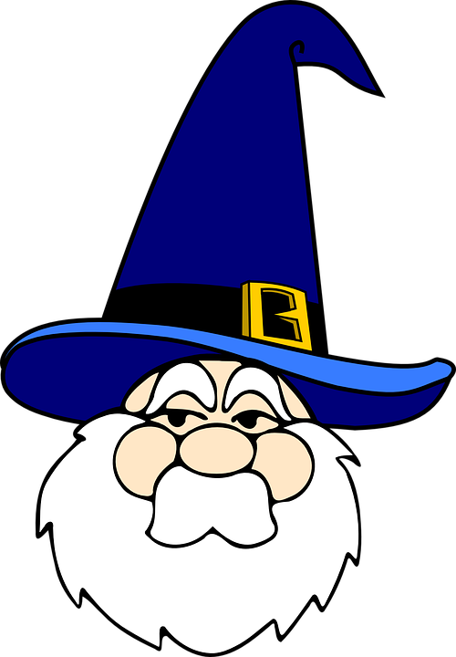 wizard man old free vector graphic on pixabay