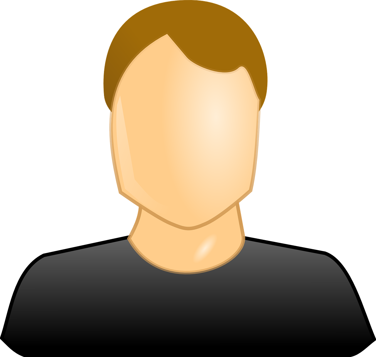 Human nose profile