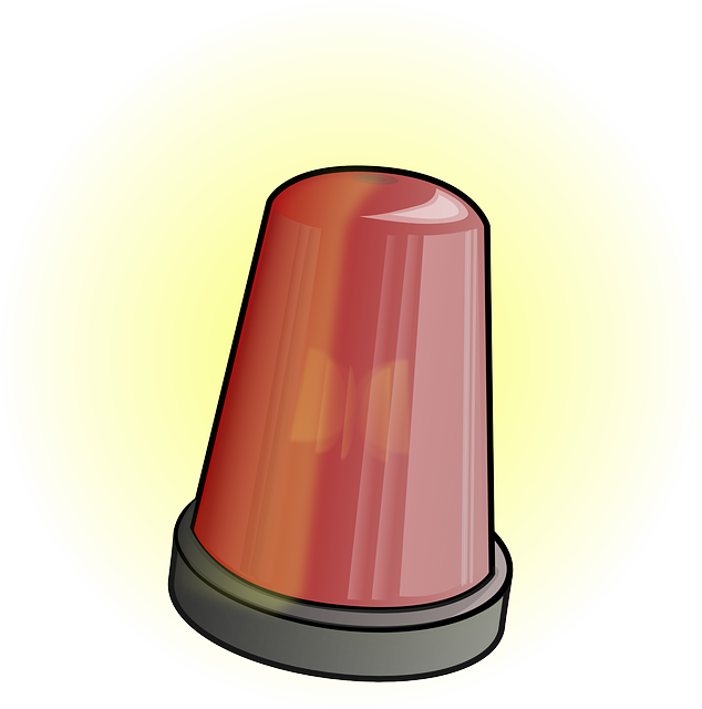 Red light flashing free vector graphic on pixabay aloadofball Gallery