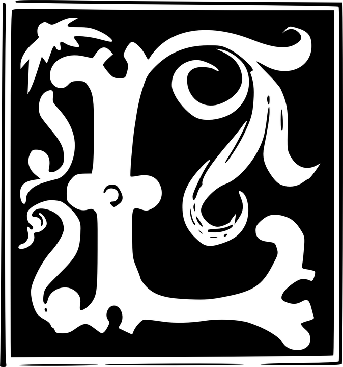 Letter Alphabet Abc Fonts Artistic Texture