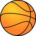 basketball, orange, round