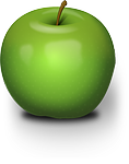 apple, green, fruit