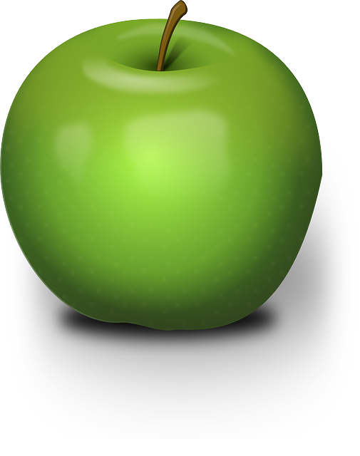 free vector graphic  apple  green  fruit  juicy  nature - free image on pixabay