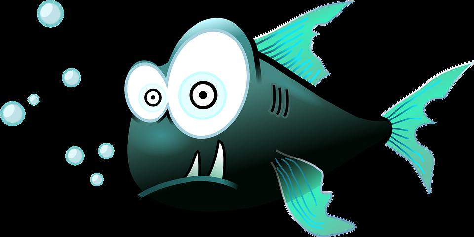 Рисунки смешные рыб