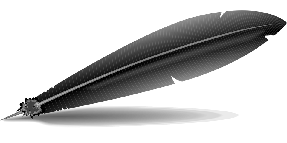 Quill Feather Pen 183 Free Vector Graphic On Pixabay