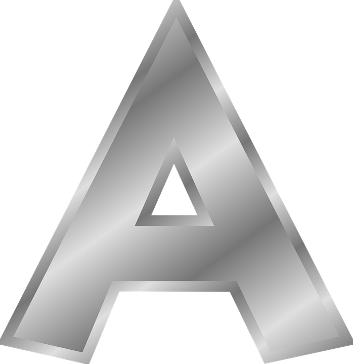 01e2a1069ae3 Letter Alphabet A - Free vector graphic on Pixabay