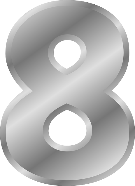 Number 8 Eight  U00b7 Free Vector Graphic On Pixabay