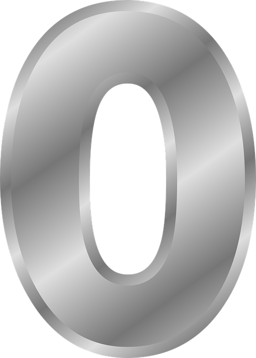 Zero Numbers 0 Free Vector Graphic On Pixabay