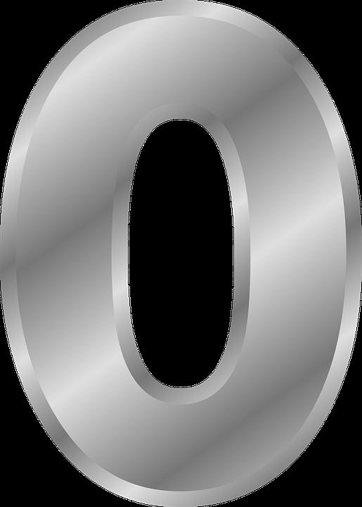 Zero Numbers 0 Free Vector Graphic On Pixabay