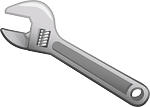 spanner, wrench, tool