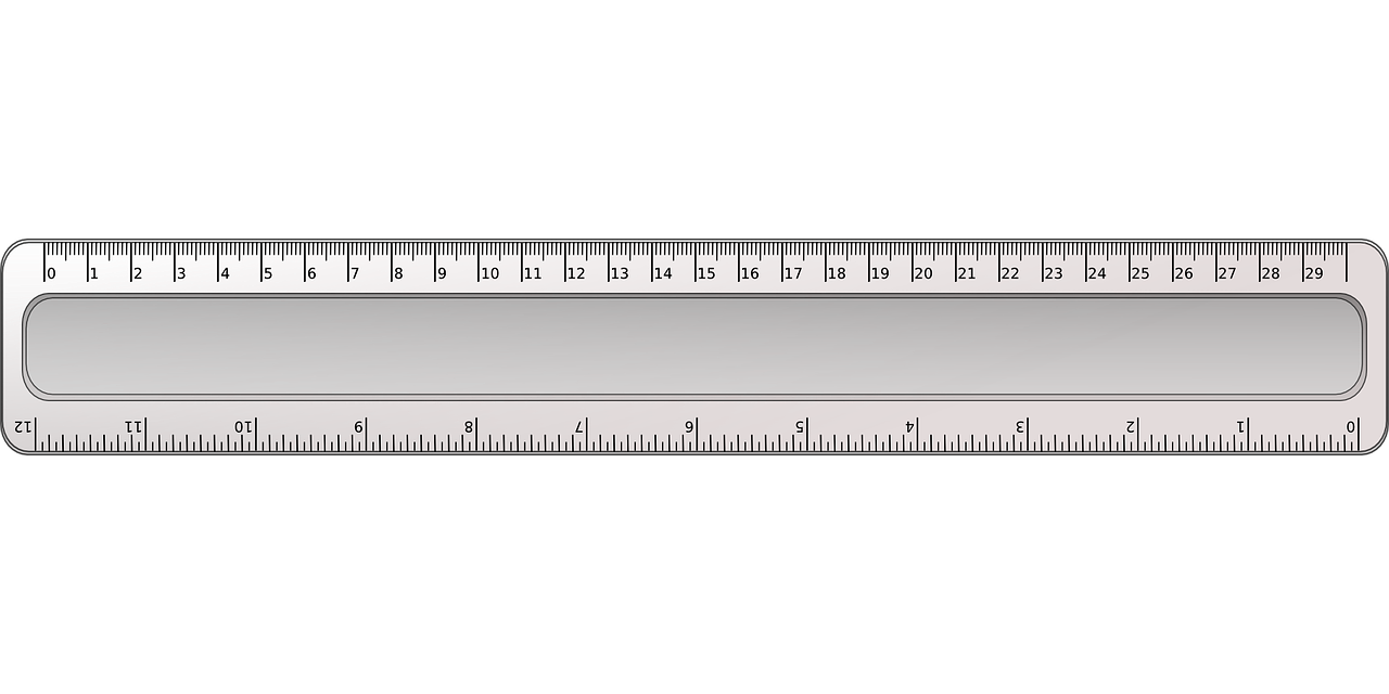 Inch Ruler Measurement Free Vector Graphic On Pixabay