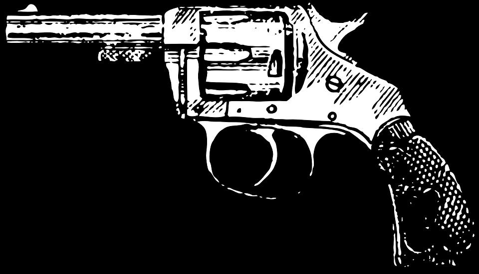 Revolver Pistola Vaqueiro Grafico Vetorial Gratis No Pixabay