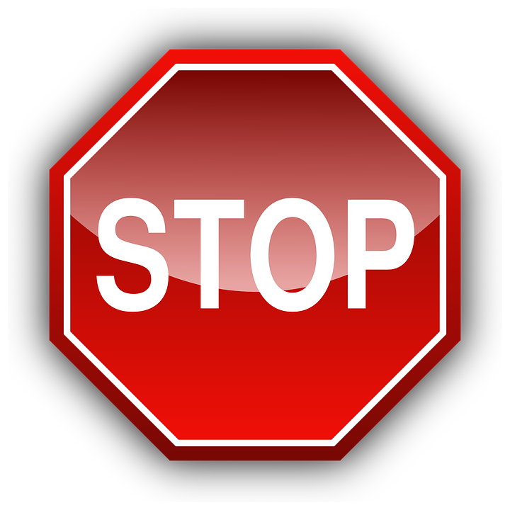 Stop Sign Traffic Free Vector Graphic On Pixabay