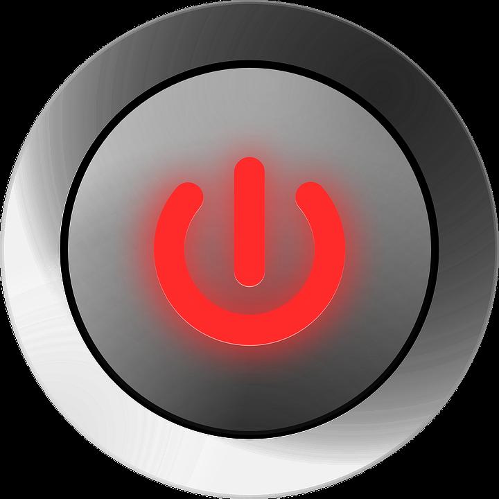 Ein Ausschalter Macht Button · Kostenlose Vektorgrafik auf Pixabay
