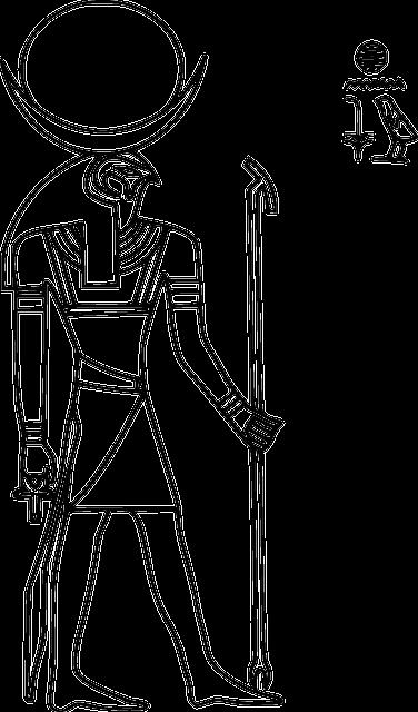 Free Vector Graphic Horus Hieroglyph Egypt Sun Disk