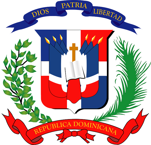 Free Vector Graphic Dominican Republic Coat Of Arms